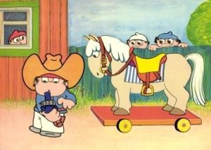 Mainzelmännchen.cowboys
